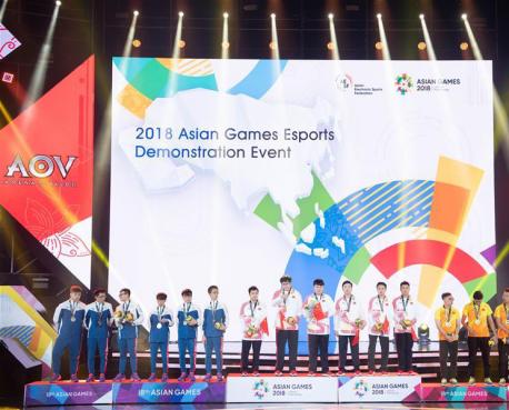 中国获得亚运会AOV金牌 昭阳医生为电竞选手保驾护航