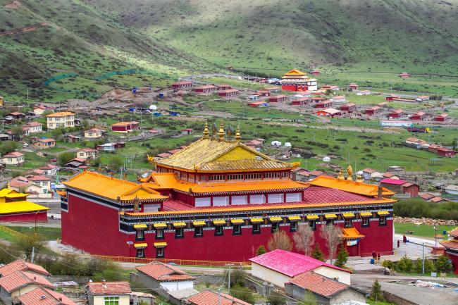 川藏人风景图片