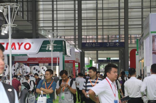 2018深圳国际连接器线束及加工设备展今日盛大开幕,人气爆棚