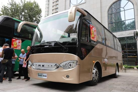 安凯全新一代7.8米后置客车――A5
