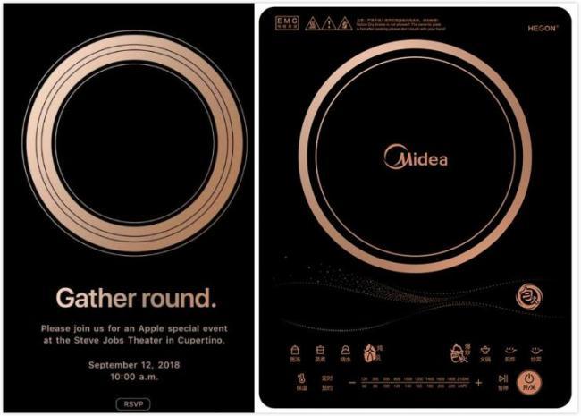 苹果又中枪 华米科技新品ai倒计时海报转发送美的电磁