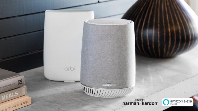 网件携手哈曼卡顿推出Orbi Voice智能音箱&WiFi分布式路由