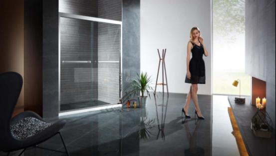德立淋浴房专利技术 提升推拉门淋浴房安全性
