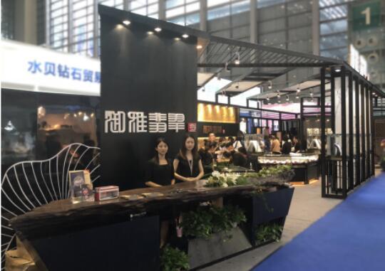 御雅翡翠全网营销模式亮相深圳国际珠宝展