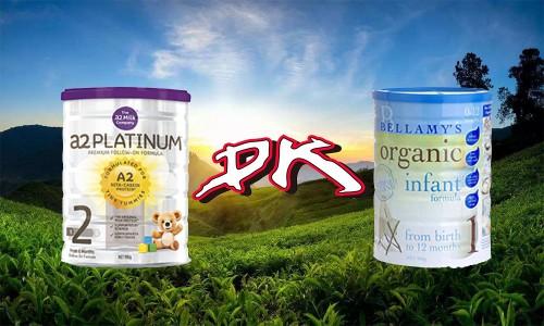 澳洲奶粉应该怎么选?澳洲a2奶粉好还是贝拉米奶粉好?