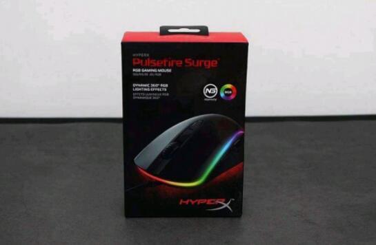 德国红点设计大奖!HyperX Pulsefire Surge巨浪RGB电竞鼠标