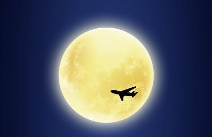 """新视野看世界 OHFLYER""""赏月航班""""即将出发 载你千里享婵娟"""