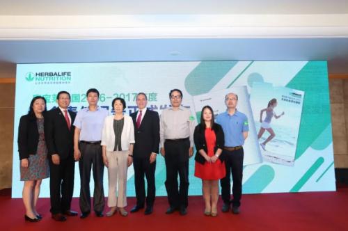 发布第五份在华企业社会责任报告 康宝莱助力健康中国