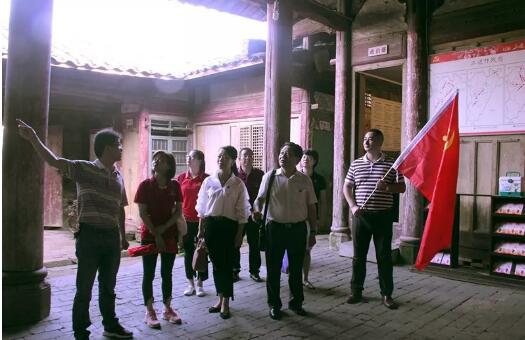 福晟集团党委与福建民营企业商会党总支赴泰宁共寻红色足迹,重温红色教育