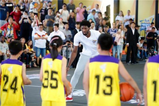 NBA中国赛明日开战 康师傅冰红茶燃球梦想系列体验等您尝鲜