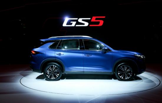 全新传祺GS5全球首发,掀起巴黎车展热潮,预售价12万起