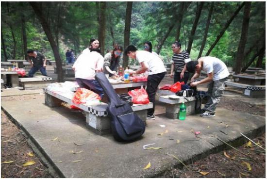 峰程7080集体翘班去良凤江森林国家公园吃烧烤