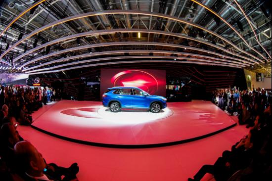 传祺巴黎车展国际聚焦,全球化目标再进一步