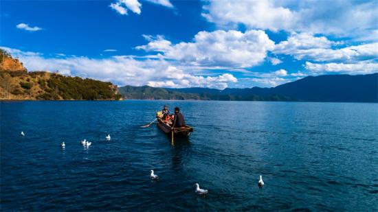 泸沽湖 航拍设备:精灵Phantom 4 Pro.png