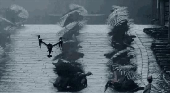 大疆Inspire 2无人机在张艺谋执导《影》的拍摄现场.png