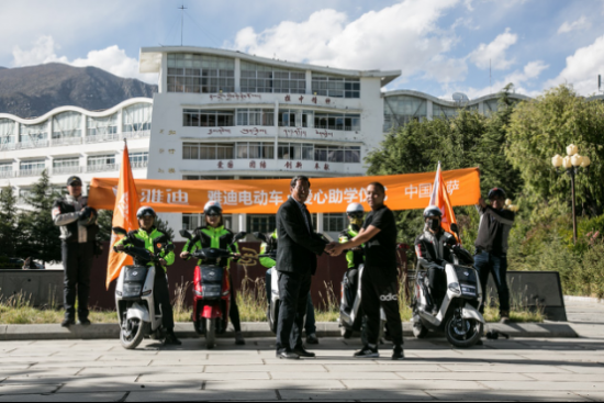 雅迪闯川藏车队战胜的几大挑战-焦点中国网