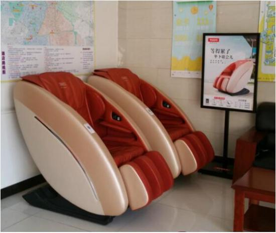智慧出行 瑞多共享按摩椅打造第三休憩空间