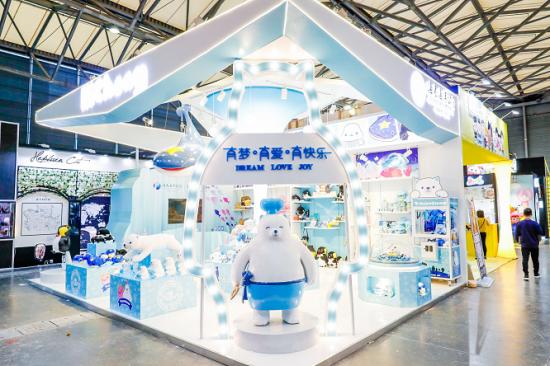 """2018年CLE中国国际品牌授权展 海昌海洋公园""""七萌团""""亮相"""