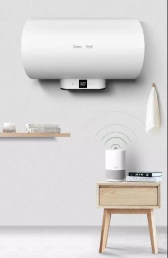 """热水器选什么品牌好,美的v3云朵电热水器让你""""懒""""出新"""