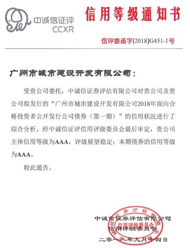 越秀地产公开发行15亿元公司债券(第一期)