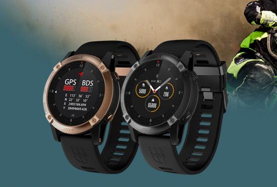 军拓铁腕5X智能户外手表上线,军工风格再次风靡户外圈