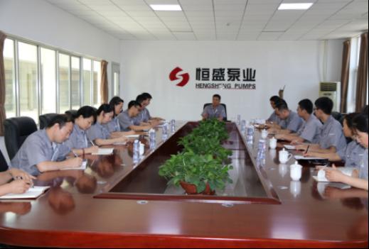 从技术员到企业家:王旭在恒盛泵业的春秋几十载