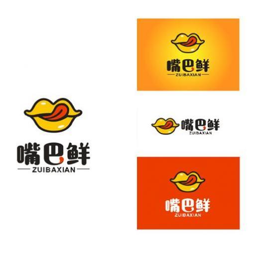 嘴巴鲜logo
