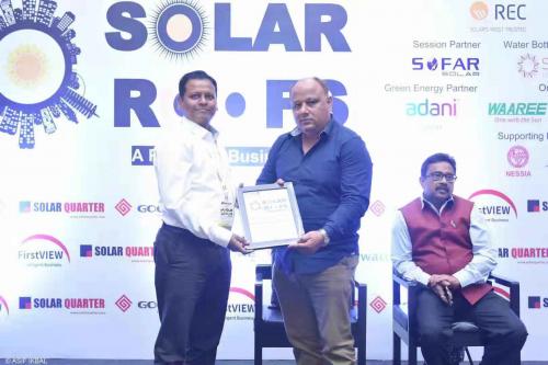 用实力赢得奖励!固德威在印度市场获得Solar Roofs系列卓越奖