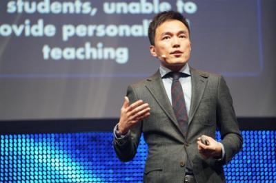 松鼠AI亮相世界顶级人工智能会议 乂学教育创始人栗浩洋讲述AI如何颠覆传统教育