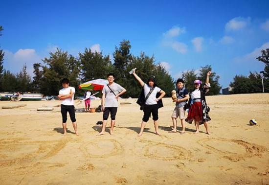 三娘湾沙滩秀3