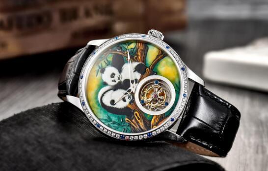 全球首发!罗蒂诗蔓将推首款大熊猫文化手表