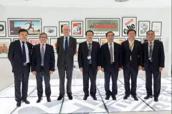倍耐力与济宁市政府就建设研发中心和测试场签署战略合作协议