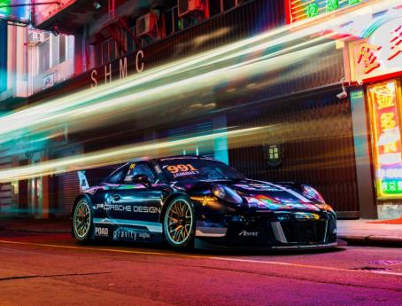 Porsche Design与香港赛车队Craft-Bamboo Racing携手 出战第65届澳门格兰披治大赛 ——国际汽联GT世界杯