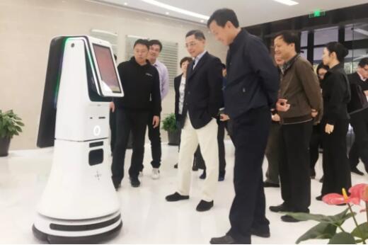 """上海副市长彭沉雷亲临""""思岚科技""""调研考察"""