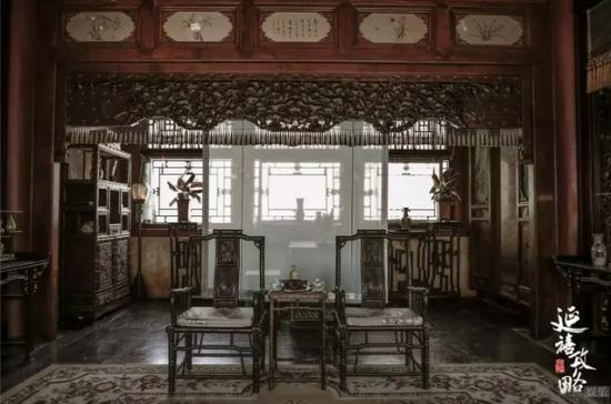 一部《延禧攻略》,也是一部《中式家居设计攻略》