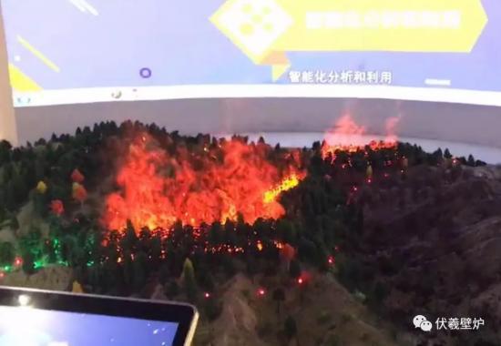 浙江科技博物馆伏羲3d雾化电