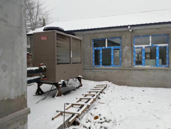 谁说东北不能用空气源热泵供暖?来看看黑龙江这个项目