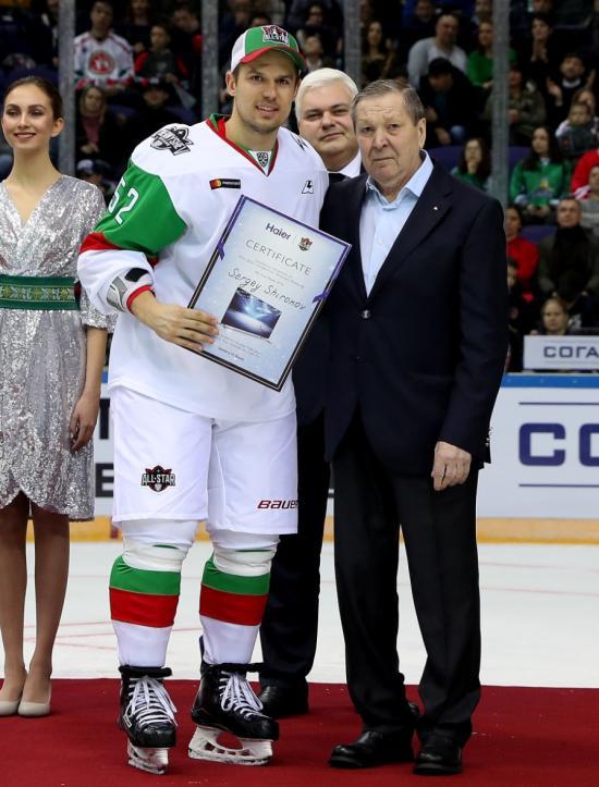 海尔现身俄罗斯第一运动 冰球KHL联赛