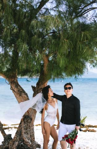 《蓝菲私人订制》三亚婚纱摄影要多少钱——前十名拍婚纱照景点排行哪家好