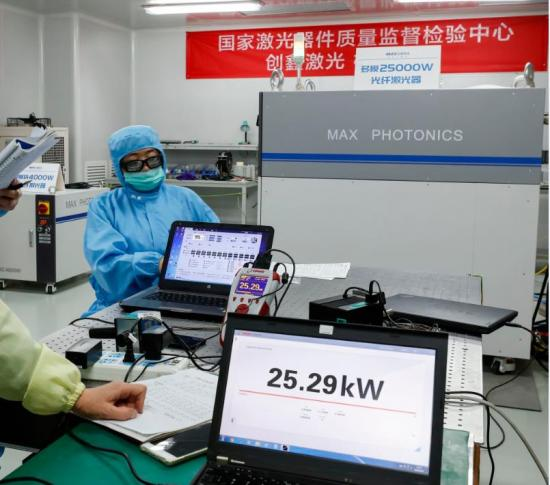 创鑫激光:国产超高功率工业激光器领航者