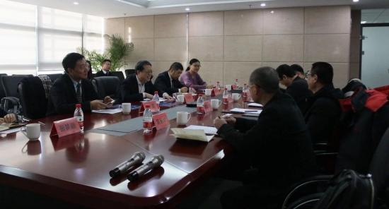政信投资在京接待温州建设集团 双方达成初步合作意向