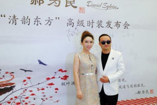 罗心妍出席2019中国国际时装周,诠释时