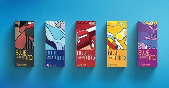 秒换心情 时尚之选——BlueMind悠意电子雾化烟