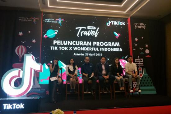 TikTok成印尼旅游部官方合作伙伴 联合
