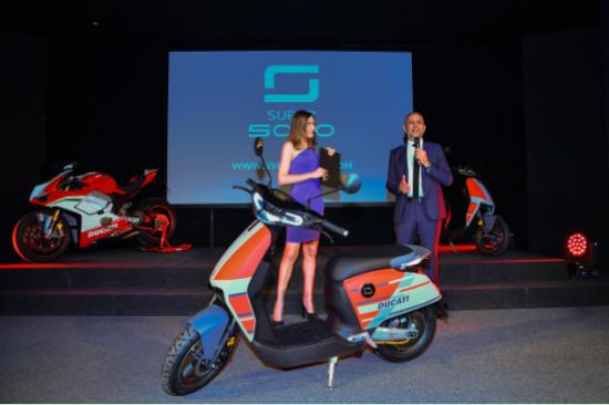 意大利百年品牌杜卡迪携手中国速珂,引领两轮智能互联新升级!