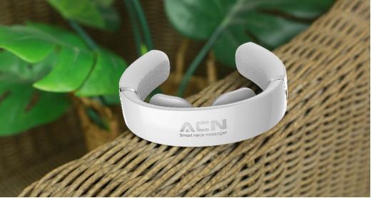 全新纳米红光和磁疗技术,ACN颈部按摩仪帮你轻松缓解肩颈不适