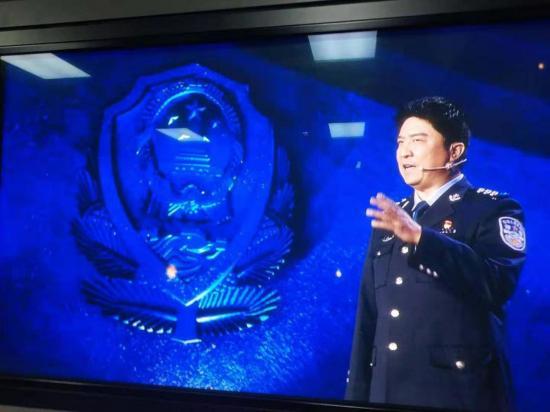 警徽耀中原,忠诚保平安——记洛阳市公安局南昌路分局副局长徐广晖