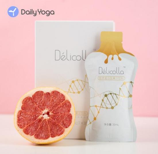 每日瑜伽Délicolla双肽胶原蛋白双十一正式发售