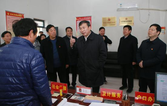 温县党建综合体 农村兴起的CBD