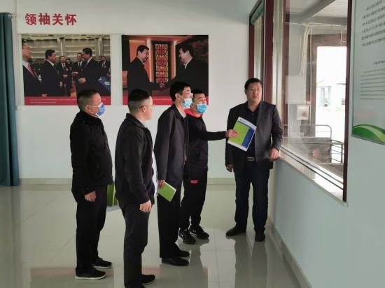 """兰考县税务局落实""""四力"""",走访企业""""送政策"""""""